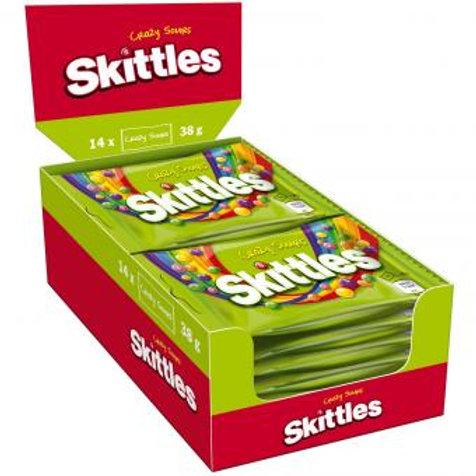 Skittles Crazy Sours 14x38g