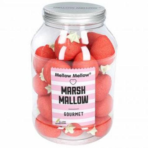 Mellow Mellow Gourmet Marshmallow Riesen-Erdbeeren 500g