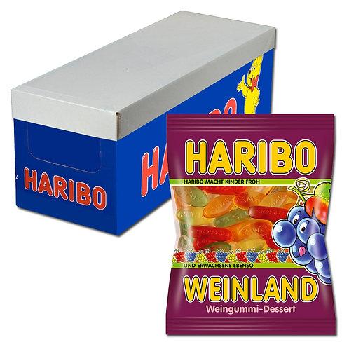 Haribo Weinland, Fruchtgummi, 20 Beutel, 200g