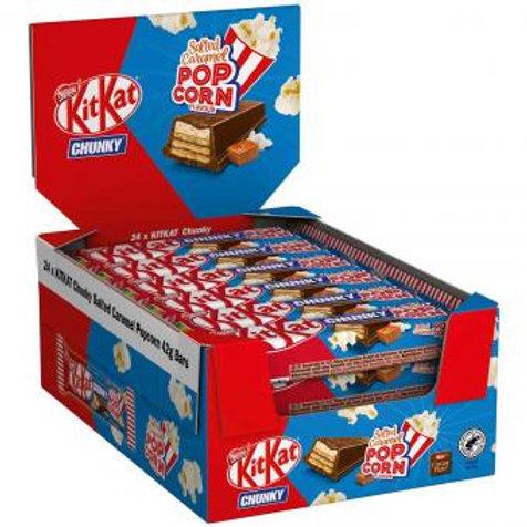 KitKat Chunky Salted Caramel Popcorn 24×42g