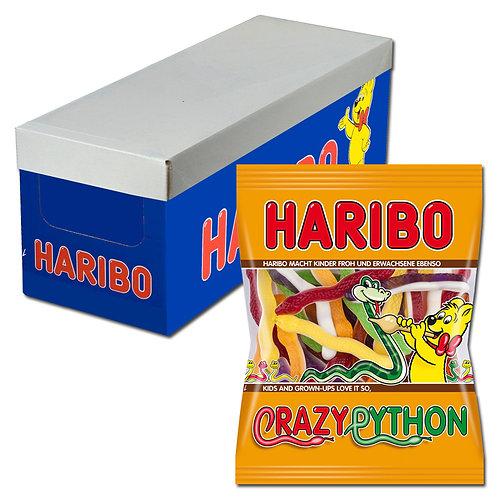 Haribo Crazy Python, Fruchtgummi, 16 Beutel je 175g