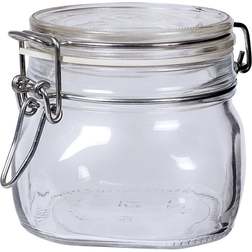 Einmachglas für Gummibärchen 1l