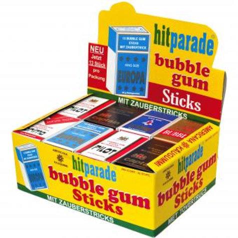 hitparade bubble gum Sticks 32x13er