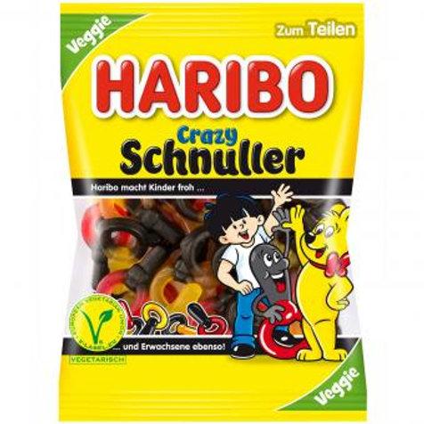 Haribo Crazy Schnuller Veggie 200g