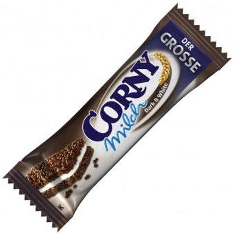 Corny Milch Dark & White Der Grosse 40g