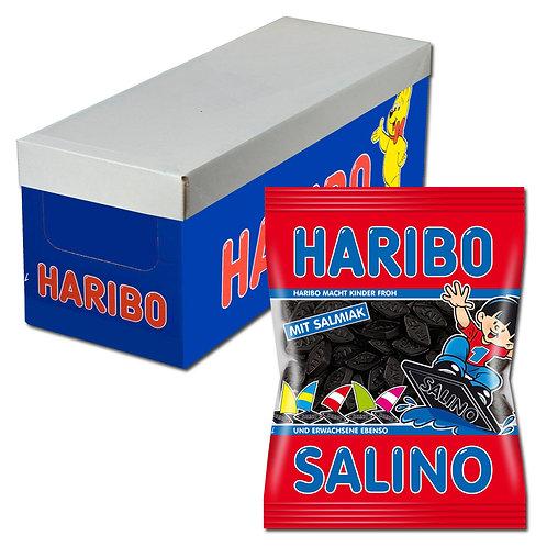 Haribo Salino, Lakritz, 18 Beutel, 200g