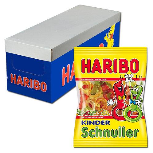 Haribo Kinder-Schnuller, Fruchtgummi, 18 Beutel, 200g