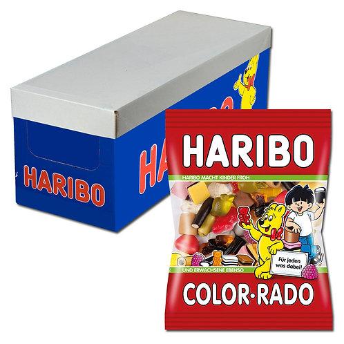 Haribo Color-Rado, Lakritz, 15 Beutel, 200g