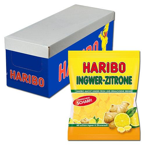 Haribo Ingwer-Zitrone 175g Fruchtgummi, 18 Beutel
