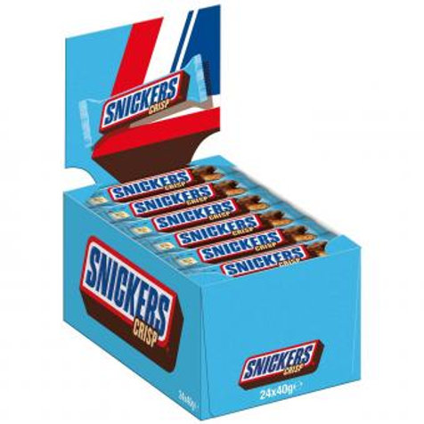 Snickers Crisp 24x40g