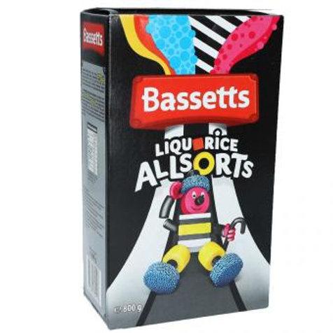 Maynards Bassetts Liquorice Allsorts 800g