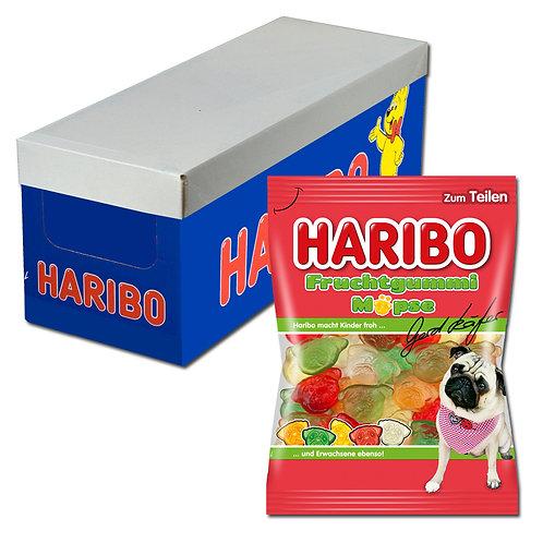 Haribo Gerd Käfers Fruchtgummi Möpse 200g, 30 Beutel