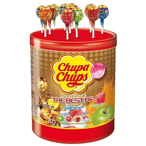 Chupa Chups The Best Of Lutscher, Lolly, 50 Stück