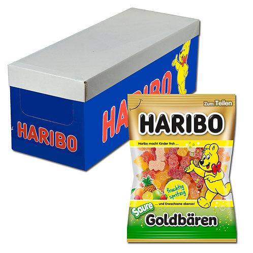 Haribo sauer Goldbären, Fruchtgummi, 18 Beutel je 200g