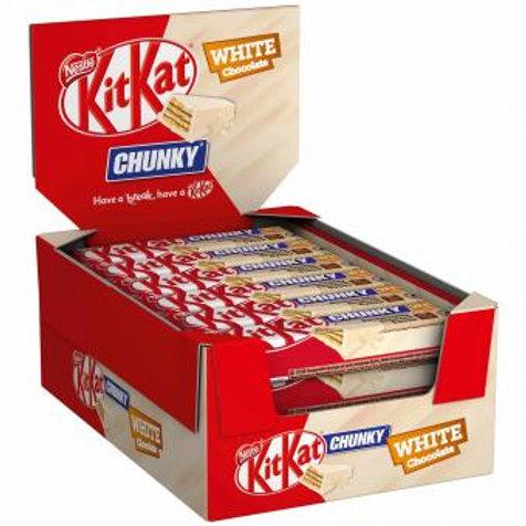 KitKat Chunky White Chocolate 24x40g