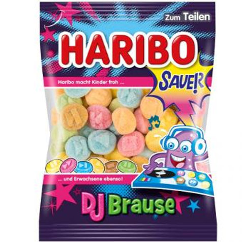 Haribo DJ Brause Sauer 175g