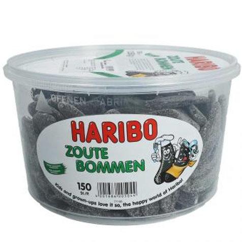 Haribo Zoute Bommen 150pcs
