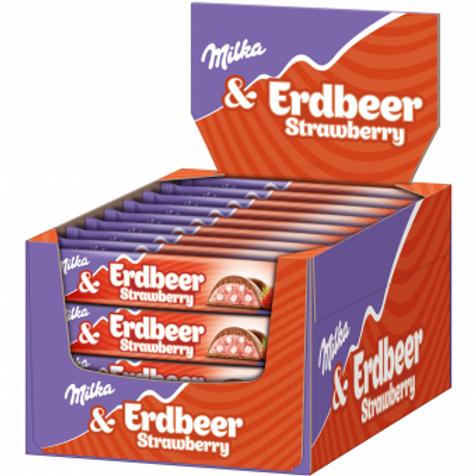 Milka & Erdbeer Riegel 36pcs
