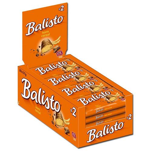 Balisto Korn-Mix, Schokolade, 20 Doppelriegel je 37g
