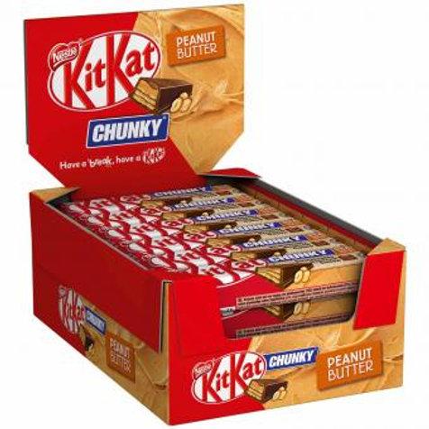 KitKat Chunky Peanut Butter 24x42g
