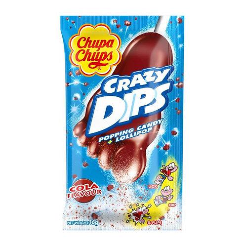 Chupa Chups Crazy Dips Cola  1pcs