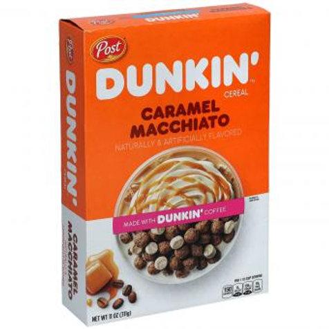 Post Dunkin Cereal Caramel Macchiato 311g