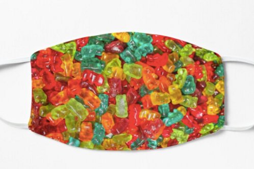 Stoffmaske Gummibärchen