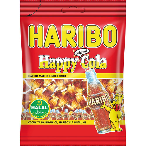 Haribo Halal Happy Cola 100g