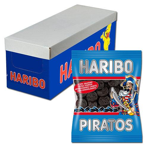 Haribo Piratos, Lakritz, 18 Beutel, 200g