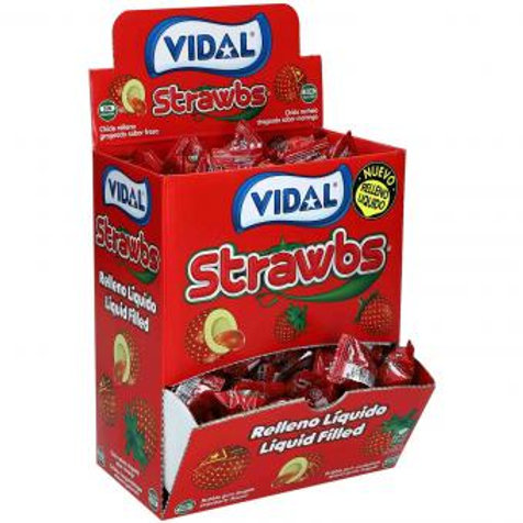 Vidal Strawbs 200pcs