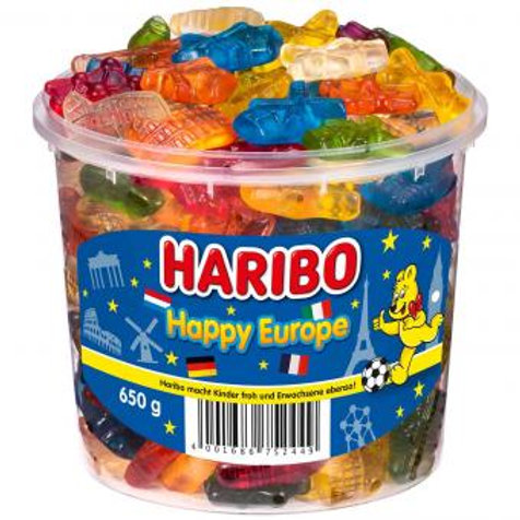 Haribo Happy Europe 650g