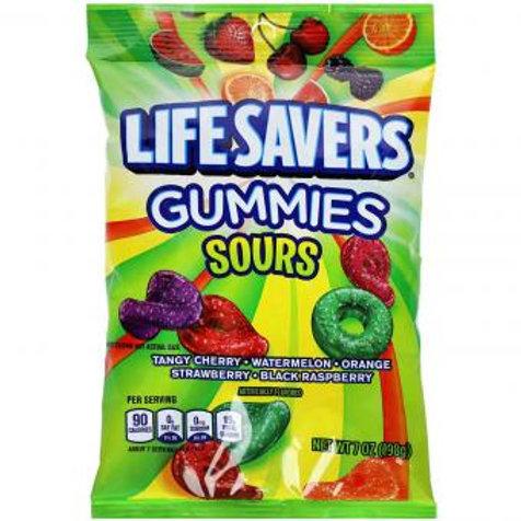 Life Savers Gummies Sours 198g
