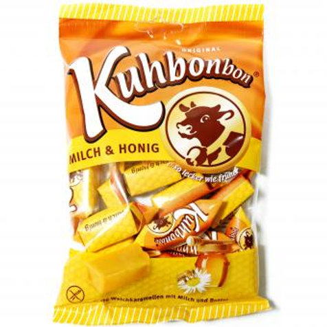 Kuhbonbon Milch & Honig 200g