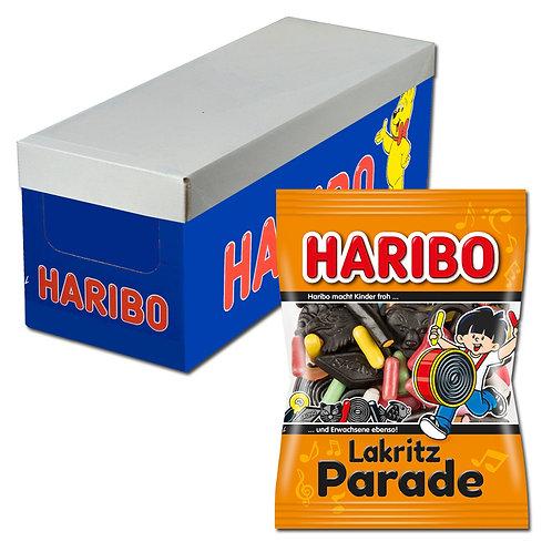 Haribo Lakritz Parade, 18 Beutel, 200g