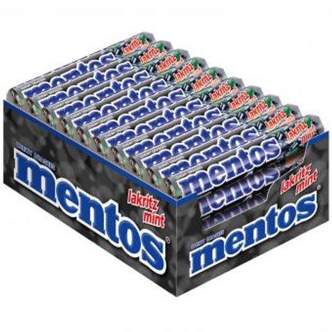 Kopie von mentos Erdbeer Mix 40x37,5g