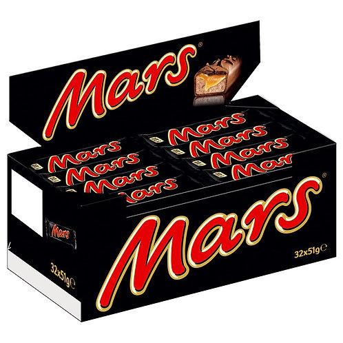 Mars, Riegel, Schokolade, 32 Riegel