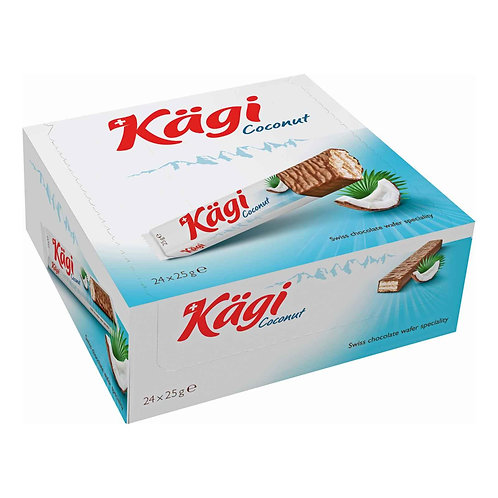 Kägi Coconut 24x25g