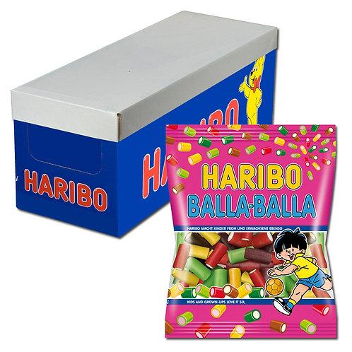 Haribo Balla Balla Fruchtgummi, Konfekt, 18 Beutel 175g