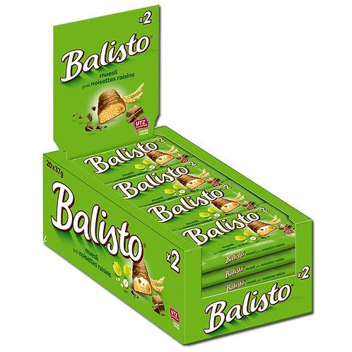 Balisto Müsli-Mix, Schokolade, 20 Doppelriegel je 37g