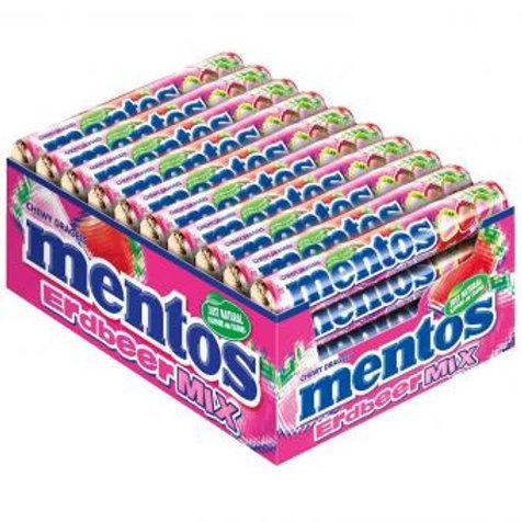 mentos Erdbeer Mix 40x37,5g