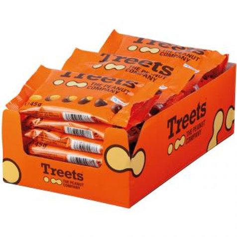 Treets - The Peanut Company Peanuts 24x45g