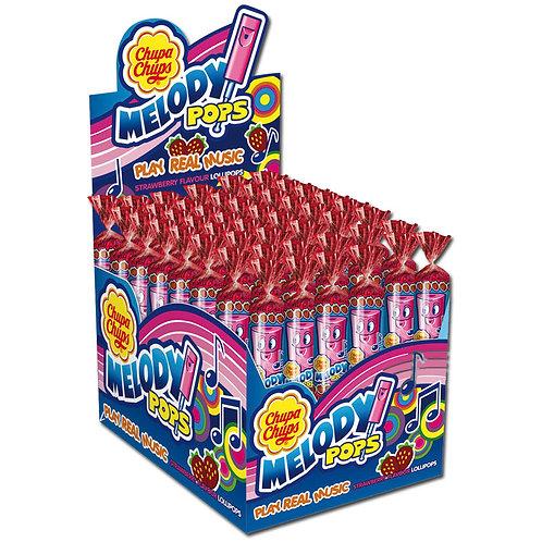 Chupa Chups Melody Pops Lutscher, Pfeifen, Lolly 48 Stk