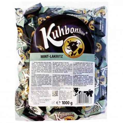 Kuhbonbon Mint Lakritz 1kg