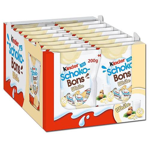 Kinder Schoko-Bons White, 18 Beutel je 200g
