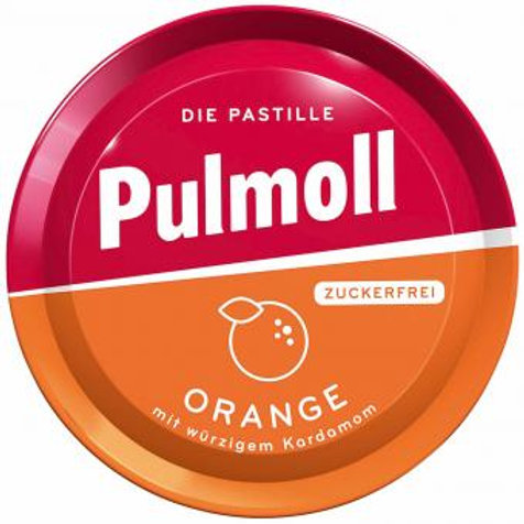 Pulmoll Orange zuckerfrei 50g