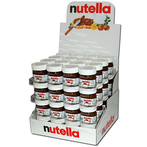 Ferrero Nutella 25g, 64 Gläser