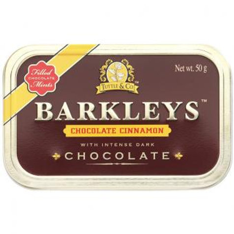 Barkleys Chocolate Cinnamon 50g
