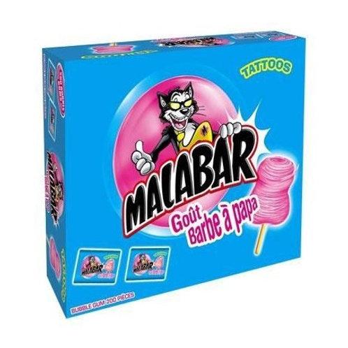 Malabar Zuckerwatte 200pcs