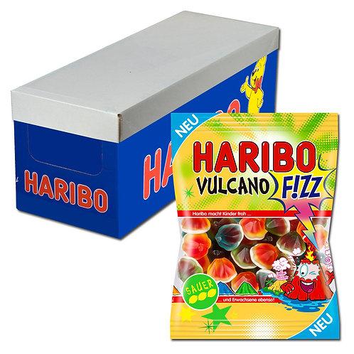 Haribo Vulcano SAUER, Fruchtgummi, 16 Beutel je 175g