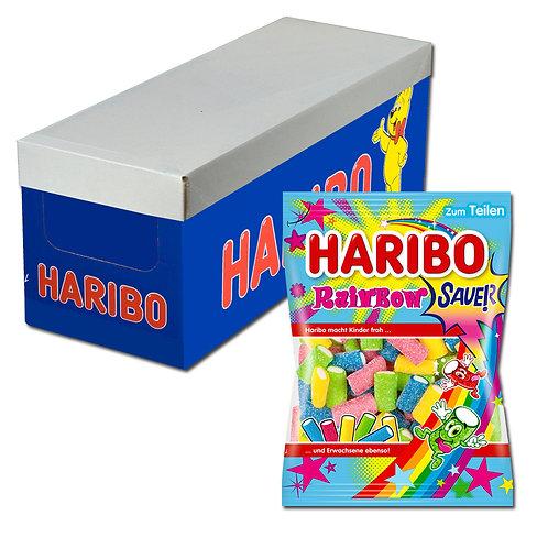 Haribo Rainbow sauer, Fruchtgummi, 18 Beutel je 175g